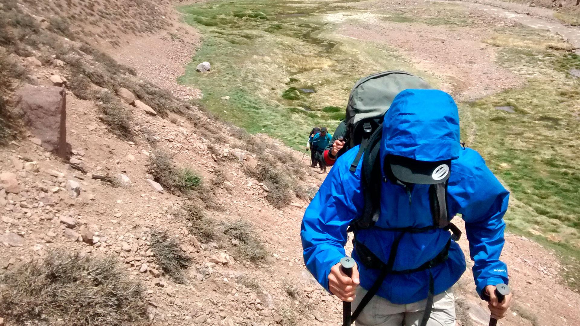 Treking-Cordillera-Andes